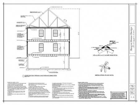 sample design plan cross section 1