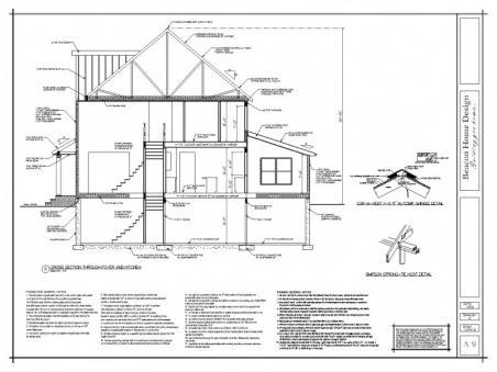 sample design plan cross section 2