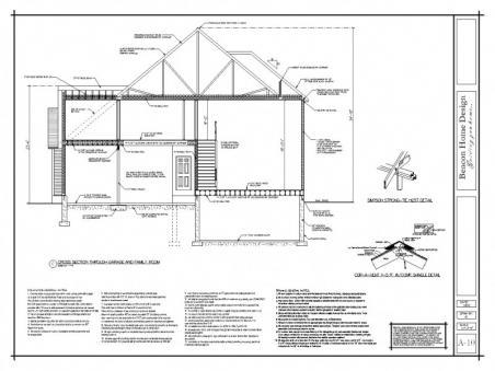 sample design plan cross section 3
