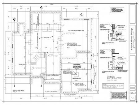 sample design plan foundation