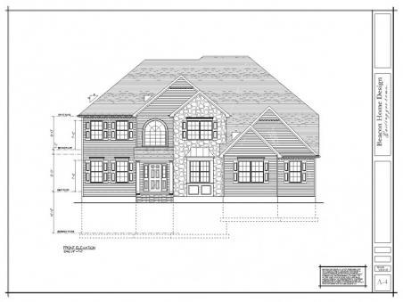 sample design plan front elevation
