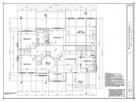 sample design plan second floor
